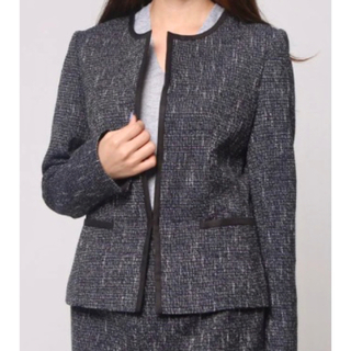 コムサイズム(COMME CA ISM)の【専用】コムサイズム セレモニー ジャケット スーツ(ノーカラージャケット)