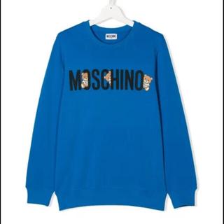モスキーノ(MOSCHINO)のモスキーノ トレーナー 青(トレーナー/スウェット)