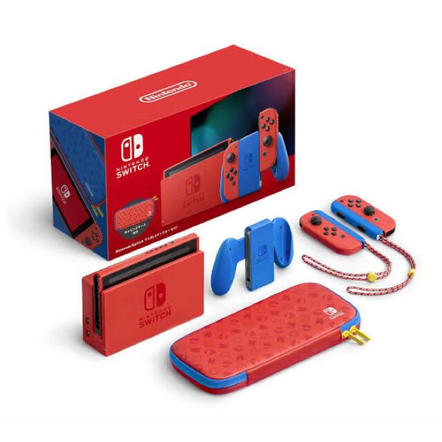 Nintendo Switch(ニンテンドースイッチ)のニンテンドースイッチ 35周年記念 マリオカラー switch本体 エンタメ/ホビーのゲームソフト/ゲーム機本体(家庭用ゲーム機本体)の商品写真