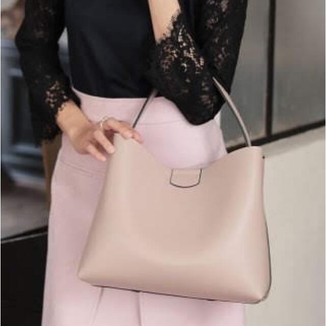 ANAYI(アナイ)の未使用 ANAYI アナイ 2トーンワンショルダーバッグ レディースのバッグ(ショルダーバッグ)の商品写真