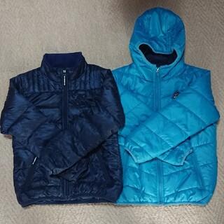 ブルークロス(bluecross)のBLUE CROSS ダウンジャケット、ジャンパー(130cm~140cm)(ジャケット/上着)