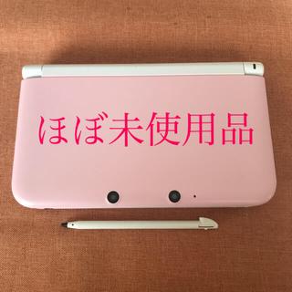 ニンテンドー3DS - Nintendo ニンテンドー3DS LL ピンク×ホワイト 本体 ほぼ未使用