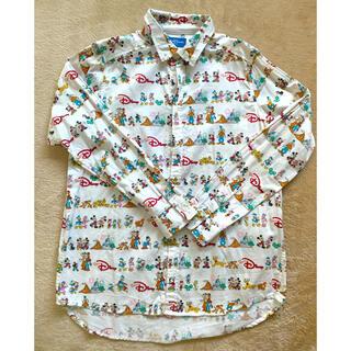 ディズニー(Disney)のチームディズニー 長袖シャツ sサイズ(シャツ/ブラウス(長袖/七分))