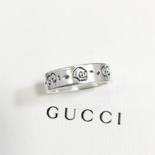 グッチ(Gucci)の正規品 グッチ 指輪 ゴースト シルバー スカル ドクロ 骸骨 925 リング(リング(指輪))
