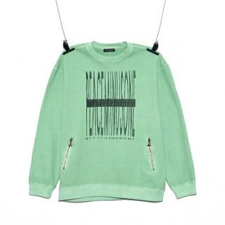 ピースマイナスワン(PEACEMINUSONE)のPMO CREW NECK #1 GREEN(Tシャツ/カットソー(七分/長袖))