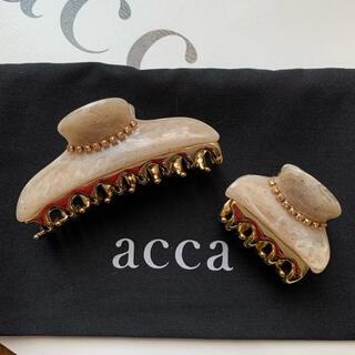 acca - 【新品】acca♡限定ニューコラーナ中小クリップセット ベージュ