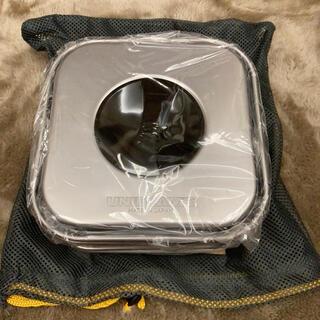 ユニフレーム(UNIFLAME)の【新品未使用品】山クッカー 角型 3(調理器具)