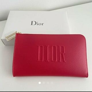 Christian Dior - 【最新】ディオール DION 赤ポーチ ノベルティー