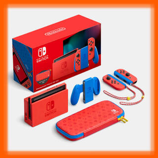 Nintendo Switch - 任天堂スイッチマリオレッド×ブルー セット