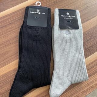 マンシングウェア(Munsingwear)のマンシングウェア☆メンズ☆靴下☆新品タグ付き(ソックス)