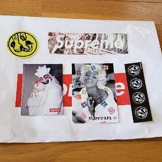 シュプリーム(Supreme)の□非売品□ Supreme ステッカー 5枚セット BOX  LOGO ナオミ(その他)