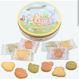 ディズニー(Disney)のダッフィー☆say cheese☆アソーテッドクッキー缶(菓子/デザート)