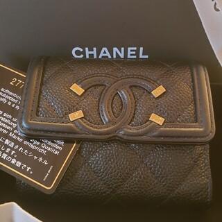 CHANEL - ♡CHANELスモールウォレット三つ折り財布♡
