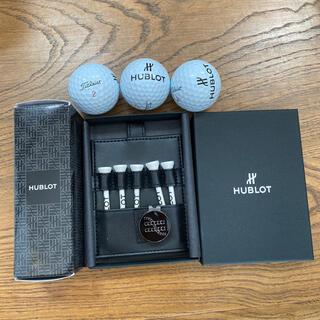 ウブロ(HUBLOT)のウブロ ゴルフ ボール ピン マーカー セット タイトリスト プロv1x(その他)
