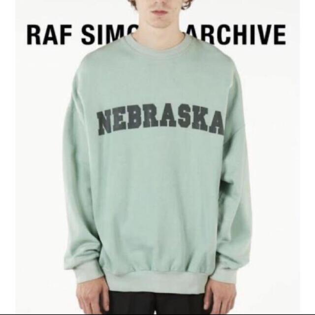 RAF SIMONS(ラフシモンズ)のraf simons archive redux ネブラスカ スウェット メンズのトップス(スウェット)の商品写真
