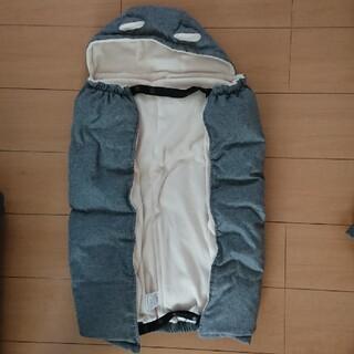 アカチャンホンポ(アカチャンホンポ)の値下げ 赤ちゃん ケープ グレー 抱っこ紐 ベビーカー(抱っこひも/おんぶひも)
