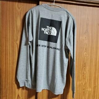THE NORTH FACE - ノースフェイス スクエアロゴ ロンT 長袖Tシャツ