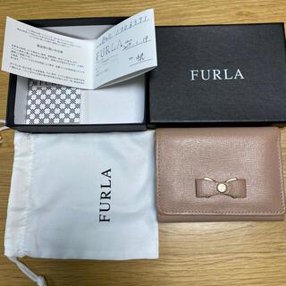 Furla - FURLA フルラ リボン ピンクベージュ 財布