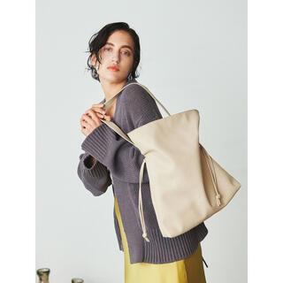 Mila Owen - ミラオーウェン タイデザインギャザーバッグ