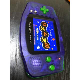 ゲームボーイアドバンス(ゲームボーイアドバンス)のゲームボーイアドバンス  本体 カセット IPS液晶(携帯用ゲーム機本体)