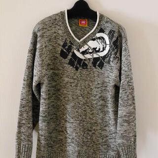 エコーアンリミテッド(ECKO UNLTD)の美品 ECKO UNLTD  セーター Lサイズ ビックロゴ(ニット/セーター)