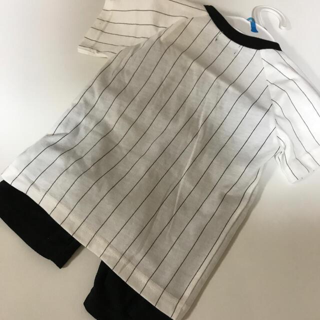 阪神タイガース(ハンシンタイガース)の阪神タイガース ベビー服 スポーツ/アウトドアの野球(応援グッズ)の商品写真