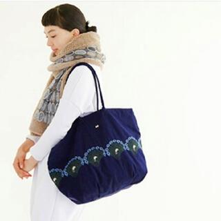 mina perhonen - ミナペルホネン peacock   トートバッグ 美品