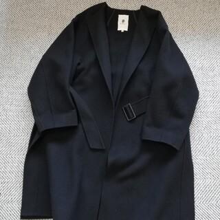 Drawer - ブラミンク blamink ウールノーカラーコート