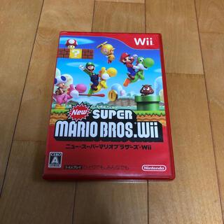ウィー(Wii)のNew スーパーマリオブラザーズ Wii Wii(その他)