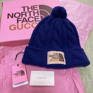 グッチ(Gucci)のGUCCI × THE NORTH FACE  グッチ ニット帽 Lサイズ(ニット帽/ビーニー)