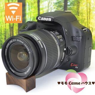 Canon - キャノン kiss X3★スマホに転送OK♪初めての一眼に★1305