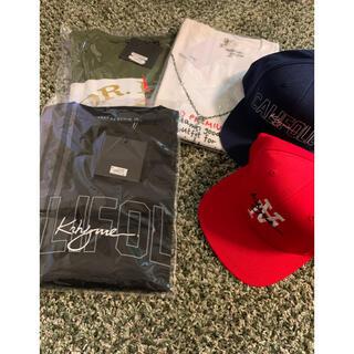 アヴァランチ(AVALANCHE)のKRHYME DENIM    Tシャツ3枚 キャップ2つ(Tシャツ/カットソー(半袖/袖なし))