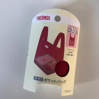 サーモス(THERMOS)のコンビニサイズ☆お弁当傾けず入れれるサーモスエコバッグ マイバッグ レジバッグ(エコバッグ)