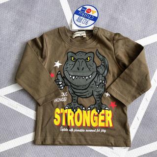 kid's zoo - 恐竜知育ロンT *° 新品未使用