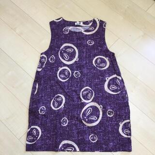 洗濯試着のみ✳︎うさぎ和柄のエプロン綿100%(その他)