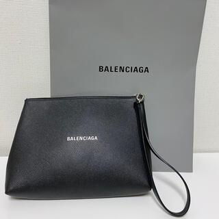 バレンシアガ(Balenciaga)のバレンシアガ BALENCIAGA クラッチバッグ ブラック(クラッチバッグ)