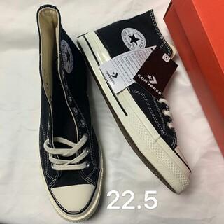 CONVERSE - 22.5cm コンバース converse チャックテイラー ct70 ブラック