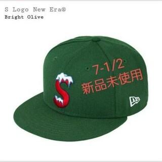 シュプリーム(Supreme)のS logo newera NEW ERA new era(キャップ)