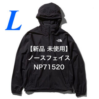 THE NORTH FACE - 【新品・未使用】THE NORTH FACE スワローテイルフーディ黒 L