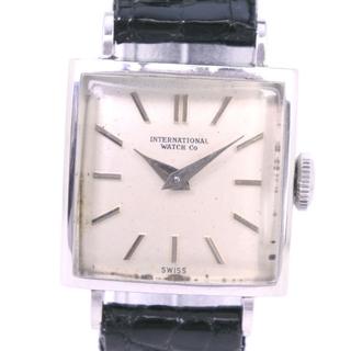 インターナショナルウォッチカンパニー(IWC)のインターナショナルウォッチカンパニー      レザー  Pm90(腕時計)