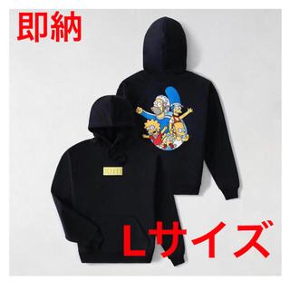 kith simpsons box logo hoodie キス ボックスロゴL(パーカー)
