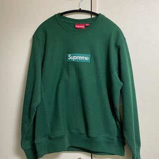 Supreme - supreme Box Logo Crewneck Dark Green