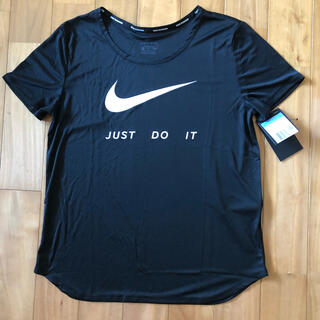NIKE - NIKE ナイキ DRY-FIT  レディースTシャツ (M) 「新品・タグ付」