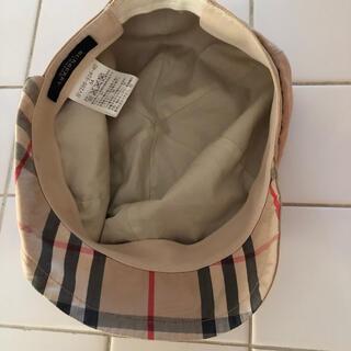 BURBERRY - BURBERRYバーバリー美品54帽子CELINEアナスイファミリアミキハウス