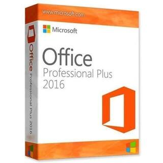 Microsoft - 【半額!】Office Professional Plus 2016【永久版】