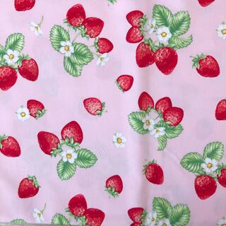 いちご イチゴ 生地 布