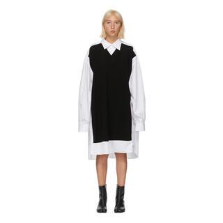 Maison Martin Margiela - 20SS新品 メゾンマルジェラ ニットパネル オーバーサイズ シャツドレス