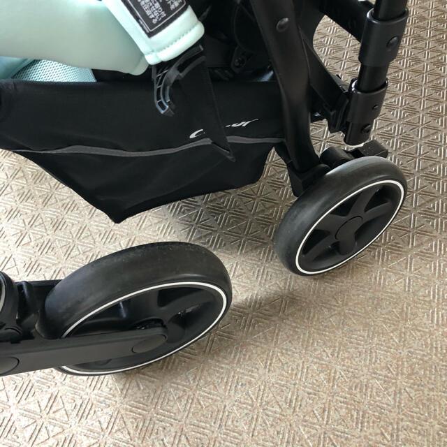 combi(コンビ)のcombi コンビ ベビーカー アット AttO type-L ミントグリーン キッズ/ベビー/マタニティの外出/移動用品(ベビーカー/バギー)の商品写真