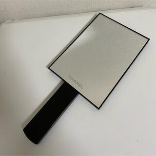 CHANEL - CHANEL シャネル 2WAYミラー 手持ち 卓上 ロゴ ブラック