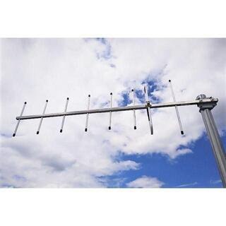 430MHz 8エレ 八木 ステンレスブーム 軽量 固定 移動運用に最適(アマチュア無線)